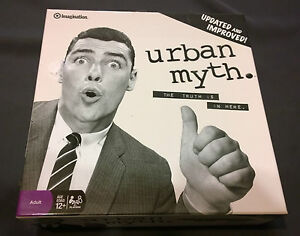 Board-Game-Urban-Myth-open-box-complete-Imagination