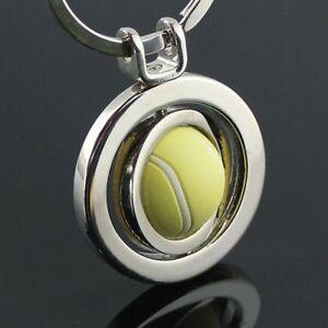 FD4794-3D-Sports-Rotating-Tennis-Keychain-Keyring-Key-Chain-Ring-Key-Fob