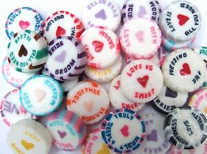 50-Wedding-Favour-Rock-Sweets-Purple-Black-Red-Pink