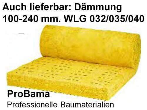 Mineralwolle Dachdämmung Dachboden Klemmilz 032-160 Wärmeschutz Dach Dachausbau