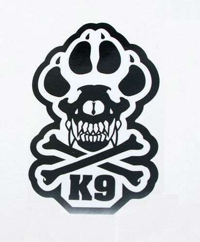 """K-9 UNIT POLICE DOGS TACTICAL US ARMY MORALE CAR VEHICLE WINDOW DECAL STICKER 6/"""""""