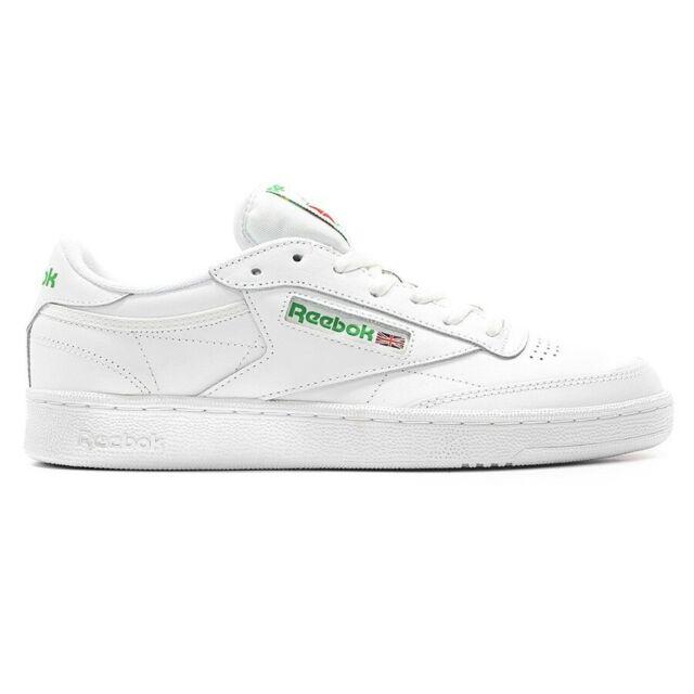 Reebok Sneakers Club C 85 Bianco Verde Uomo Acquista