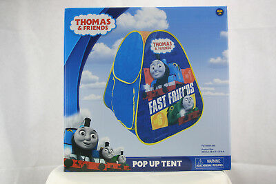 Thomas /& Friends Pop Up Tent Fast Friends Train Child/'s Size Pop Up Hide 'N Play