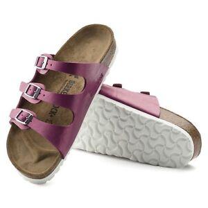 Détails sur Birkenstock Florida sandales 41 Normal Graceful Magenta Haze Pink 1008854 NEUF afficher le titre d'origine