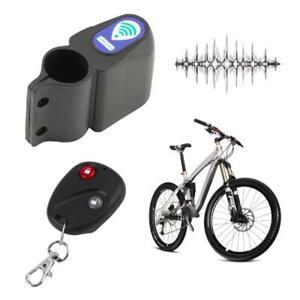 Bicycle Alarm Lock Wireless Remote Control Alarm Safety Lock Motorbike Vehicle Burglar Alarm Siren