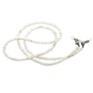choisir véritable moderne et élégant à la mode magasiner pour les plus récents Détails sur RAINBOW Cordon Lunettes Porte-Lunette Perle nacrée RC-Mother  Pearl White 5mm