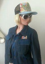 Nos Patchwork's Peyton Vintage 70's Jean Jacket 36 38 Med 46 Uk Japanese Japan
