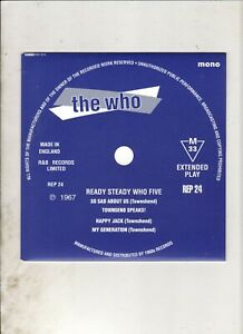 THE-WHO-Ready-Steady-Who-5-EP-w-PS-60s-MOD-FREAKBEAT