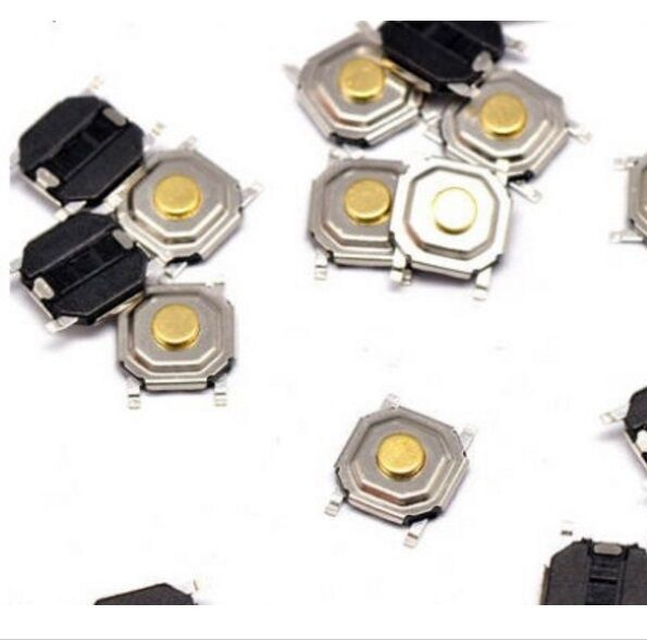 30PCS Switch Button Stable Tact SMD Micro Switch 4x4x1.5MM