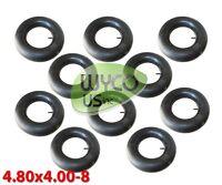 Ten Inner Tubes, 4.00-8, 4.80x4.00-8, Straight Valve, Tr13, 4.80/4.00-8, T-195