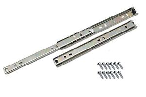 Ball-bearing-drawer-runners-groove-slides-H-27mm-1-06-034-L-300mm-11-8-034-1-Pair