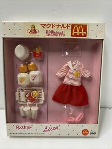 Licca-Chan Doll Mcdonald Rica Dress Set Takara Themes