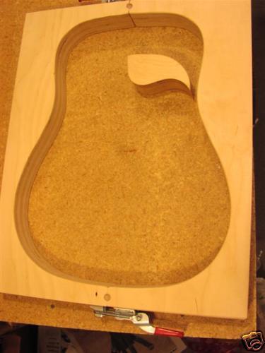 Martin Guitar kit Guitar Mold for Cutaway standard    14 fret Dred