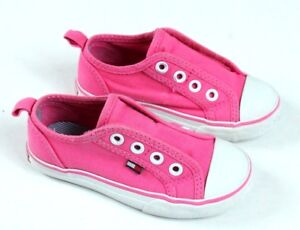 dba65e537 Tommy Hilfiger Girl Toddler Shoes Size 7 Pink White Laceless Sneaker ...