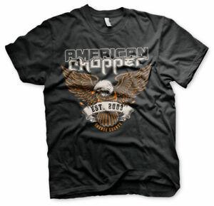 Licenza-Ufficiale-American-Chopper-Orange-County-Uomo-T-SHIRT-S-XXL-Taglie