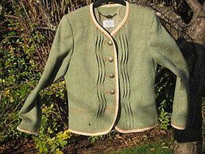 foderato verde lino sartoriale qualità look Giacca taglia Vgc 10 oliva austriaco 5COdHtxw