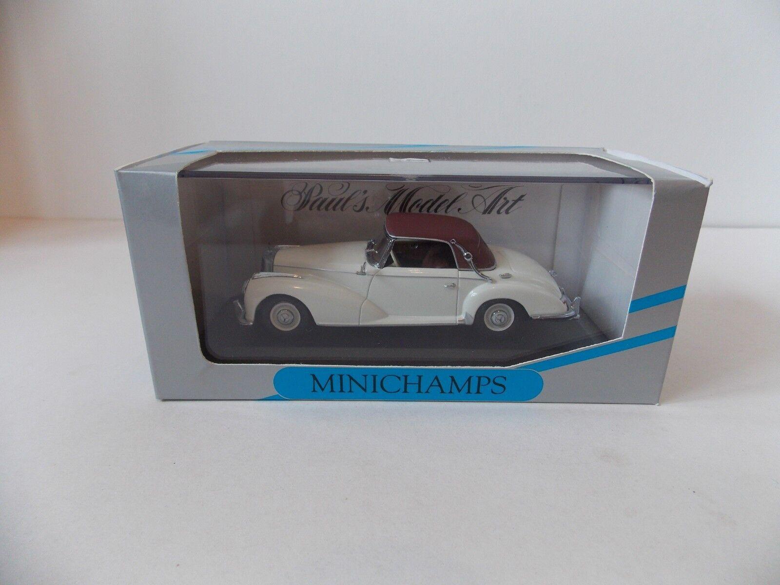Minichamps Mercedes-Benz 300 S Cabrolet Sof Top,White 1951-1955 Min 032341