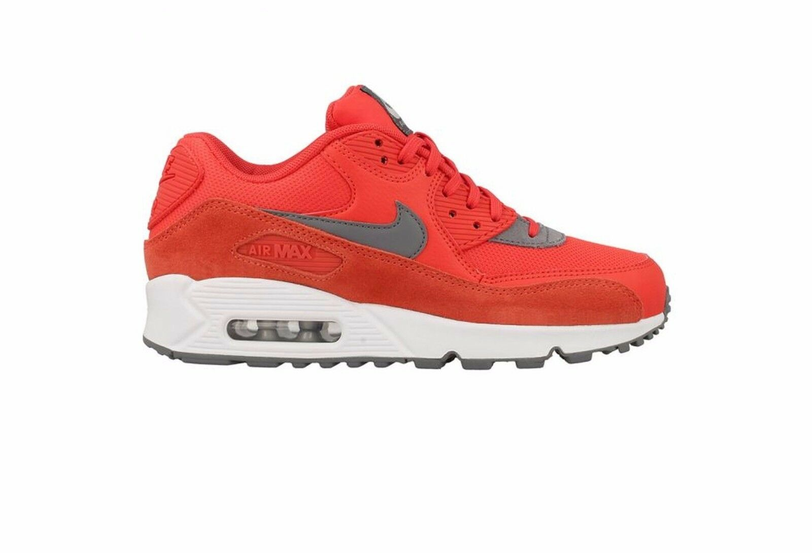 Nike Air Max 90 Max orange Cool Grey-White 325213-801 Wmn Sz 9.5