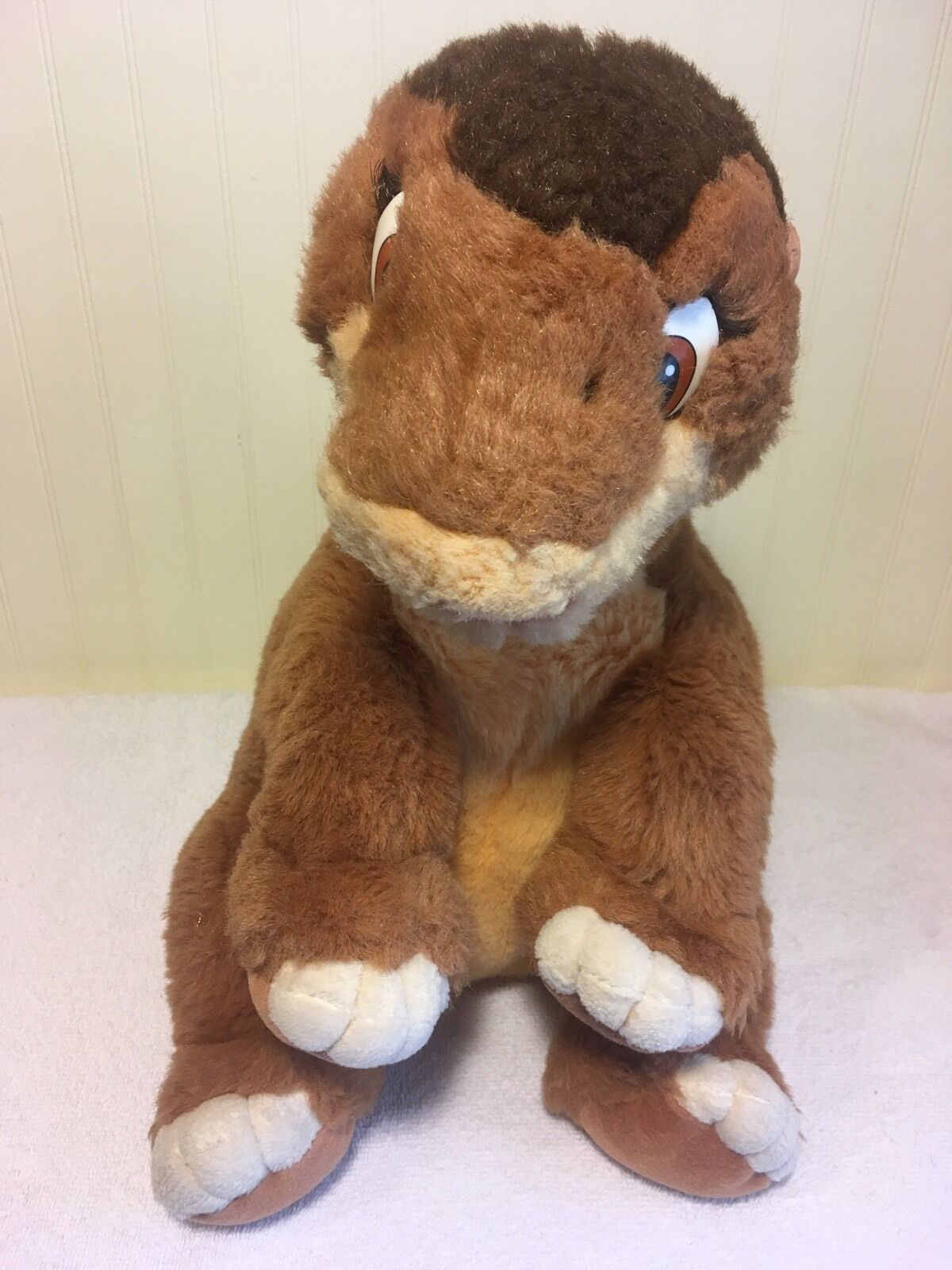 The Land Before Time Littlefoot Plush Stuffed Toy Dinosaur Large 16