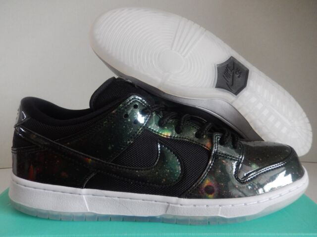 online retailer 4a63f 2a658 Mens Nike SB Dunk Low TRD Quickstrike Space Galaxy Black White 883232-001  US 10