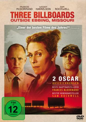 Three Billboards Outside Ebbing - DVD NEU OVP