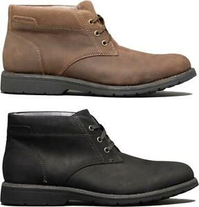 Hush-Puppies-BEAUCERON-PT-CHUKKA-Mens-Stylish-Comfortable-Leather-Ankle-Boots