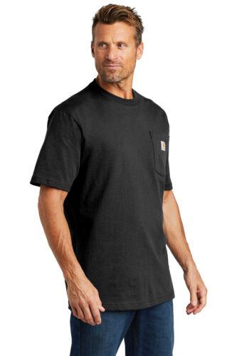 Carhartt Workwear Pocket Short Sleeve T-Shirt K87 Heavyweight Jersey Knit Tee