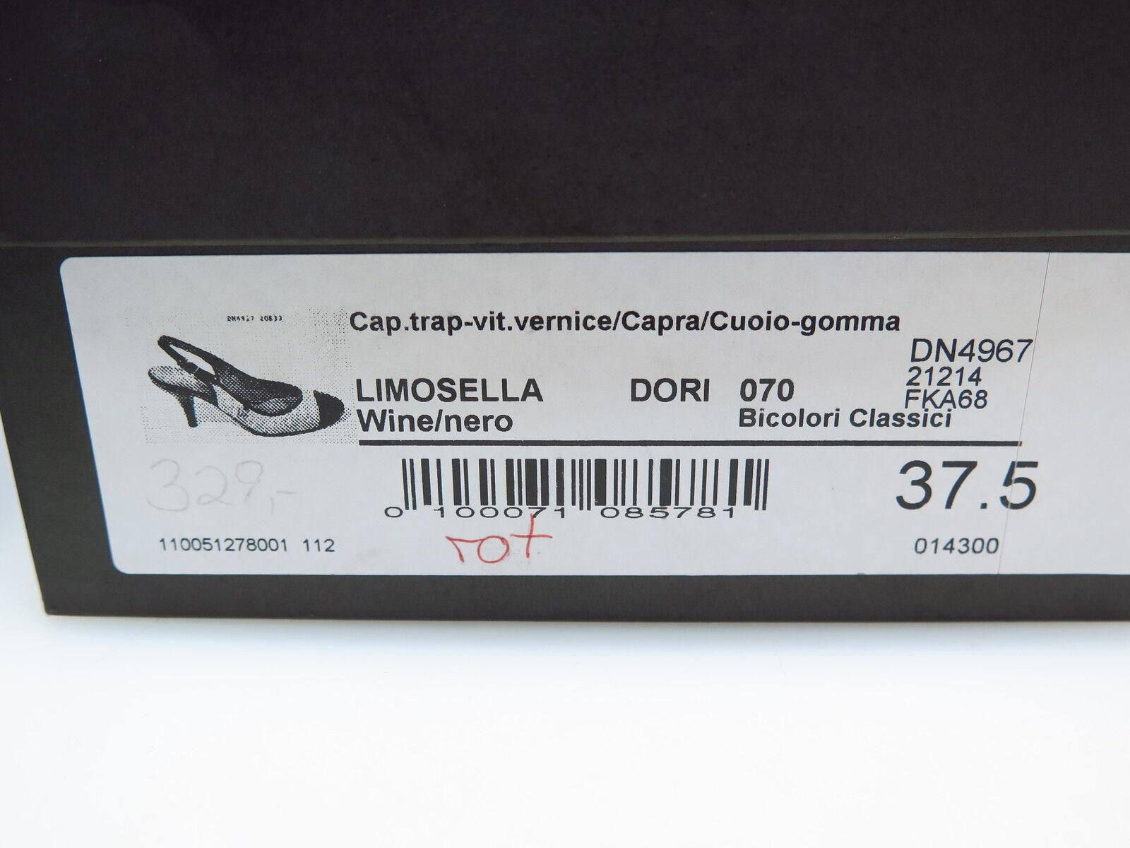 Bruno Magli Designer Damenschuhe Limosella Gr. Wine Nero Rot DN4967 Gr. Limosella 37,5 NEU 53193b