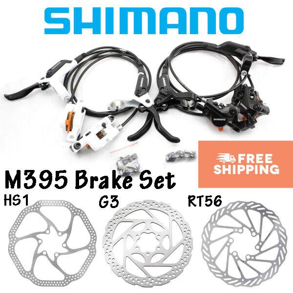 Disco hidráulicos Shimano Acera M395 Palanca De Freno Delantero Posterior conjunto ciclismo rojoores MTB