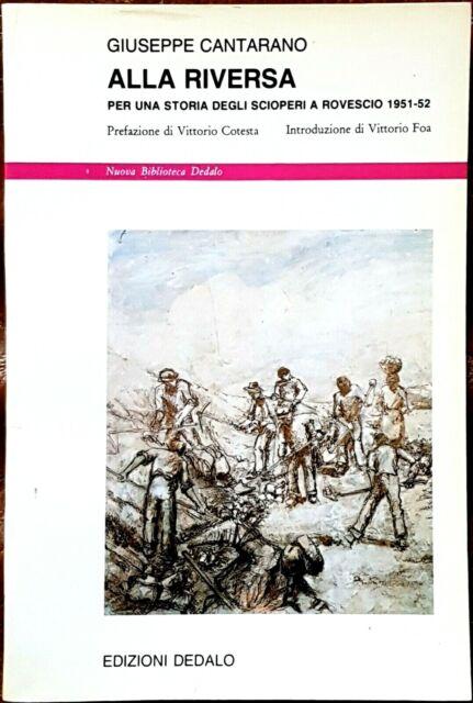 Giuseppe Cantarano, Alla riversa, Ed. Dedalo, 1989