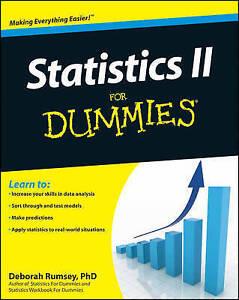 Statistics-II-for-Dummies-by-Rumsey-Deborah-J-Paperback-Book