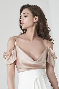 70cff465c2da Image is loading Womens-Lavish-Alice-Cami-Bodysuit-Ruffle-Bodice-Off-