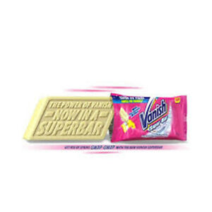Vanish Super Bar Soap Multi Fabric Stain Remover With