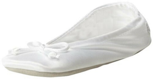 Isotoner Women/'s Classic Satin Slippers Style A96009