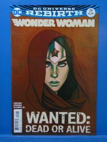 Wonder Woman #29  Rebirth Jenny Frison  Variant Edition  D.C Comics CB15765