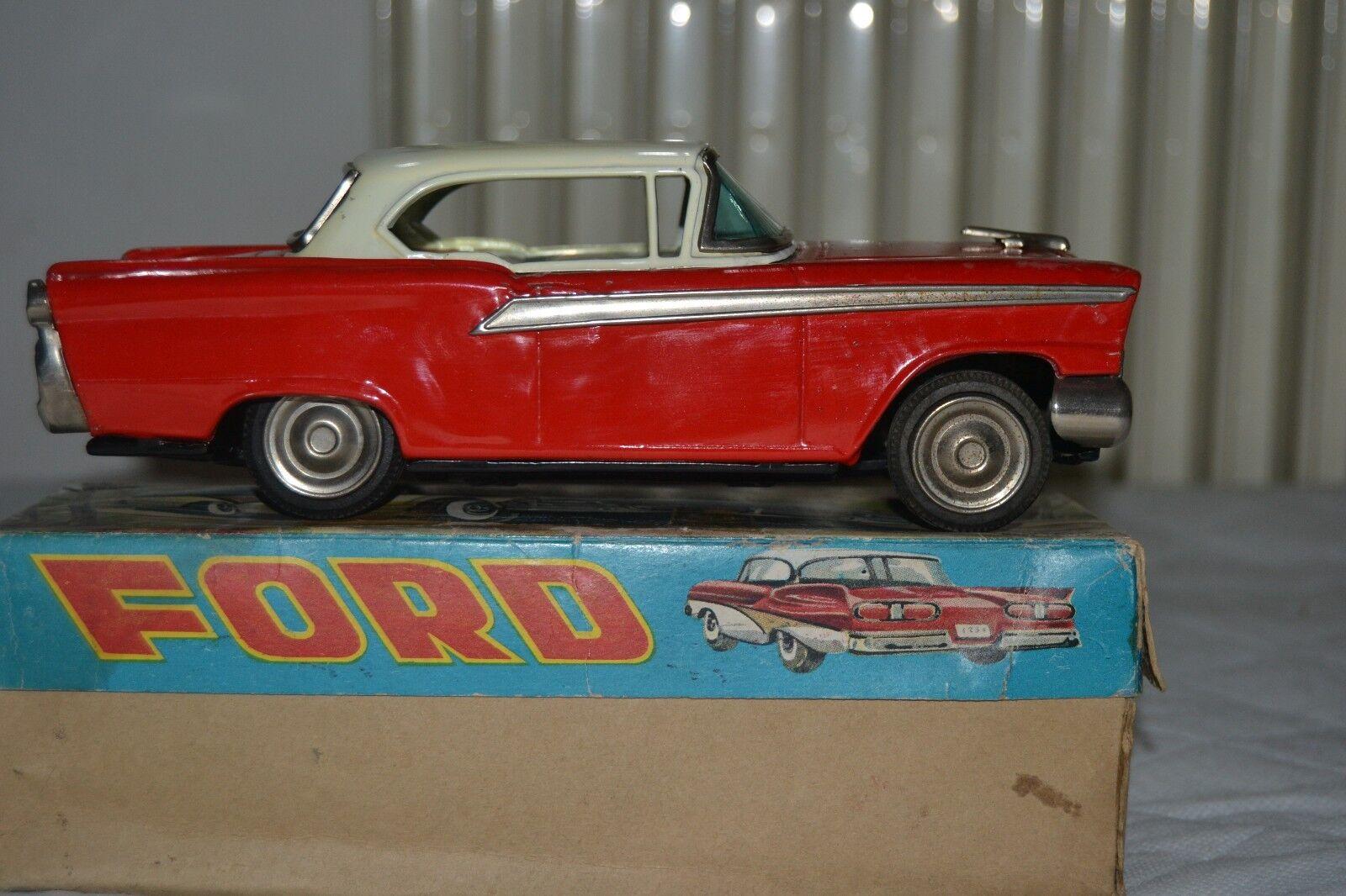 Tin toy Ford Trade Mark SN Japan lunga 20cm