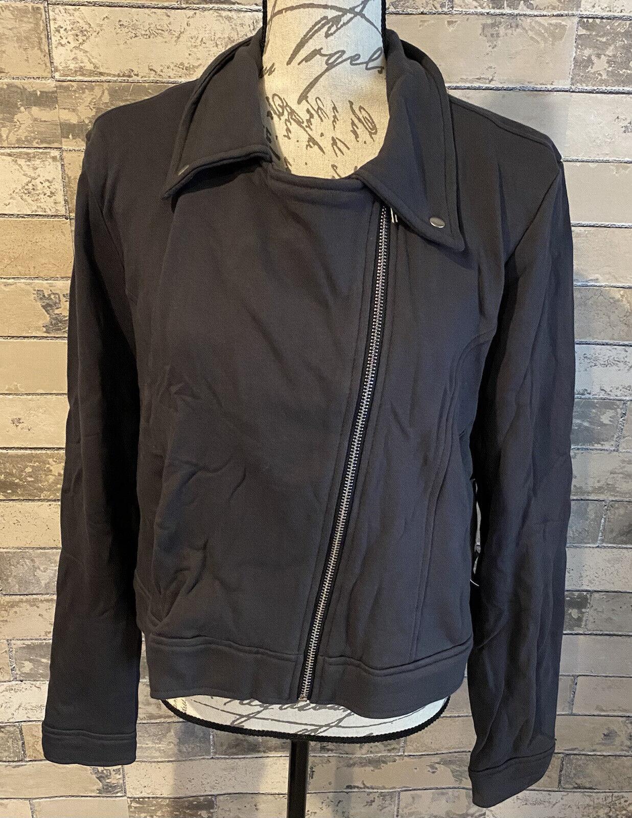 NEW RELEASE Lularoe Presley Moto Jacket Extra Large XL Beautiful Solid Gray Nwt