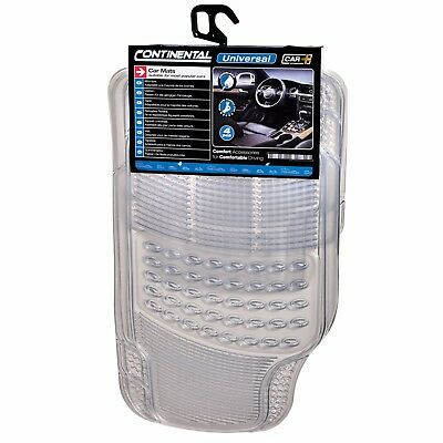 Sumex Universal 4pcs Heavy Duty Durable Rubber Car Floor Mats Clear Transparent 8424332307309 Ebay
