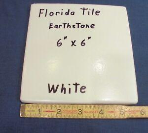 White Florida Ceramic Floor Tile