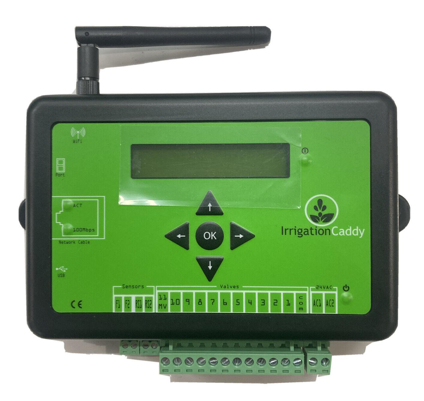 IrrigationCaddy 11-Zone Wireless Web Based Irrigation Control System IC-W1