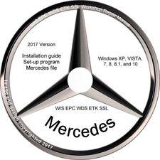 Mercedes Benz 2016 2017 EPC WIS ASRA Volle deutsche Version. Vorinstalliert!