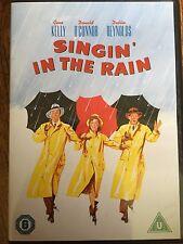 Gene Kelly Debbie Reynolds SINGIN' IN THE RAIN ~ 1952 Musical Classic UK DVD