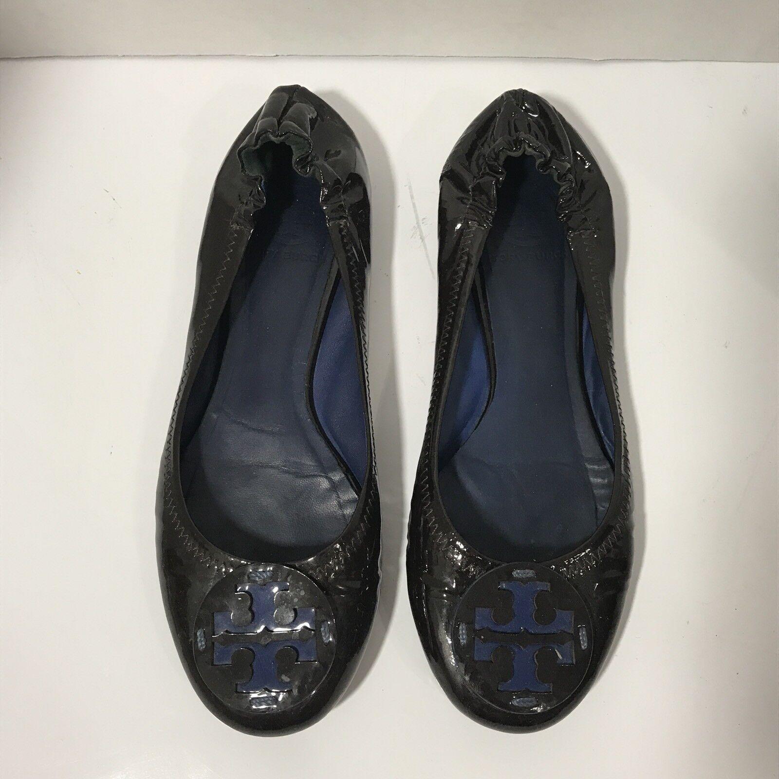 Tory Burch tamaño 7 7 7 Zapatos Ballerina Zapatos de tacón cuero marrón oscuro 7 para mujer con logotipo  Todos los productos obtienen hasta un 34% de descuento.