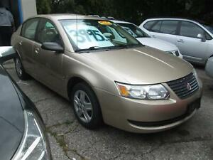 2006 Saturn ION ONLY 100,000 KM'S. - CERTIFIED!!!