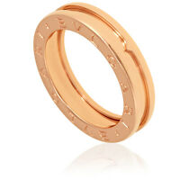 Bvlgari B.Zero1 18k Rose Gold 1-Band Ring