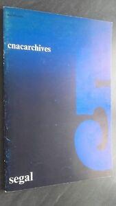 Cnacarchives Nacional de Arte Contemporáneo Demuestra Segal 1972 París