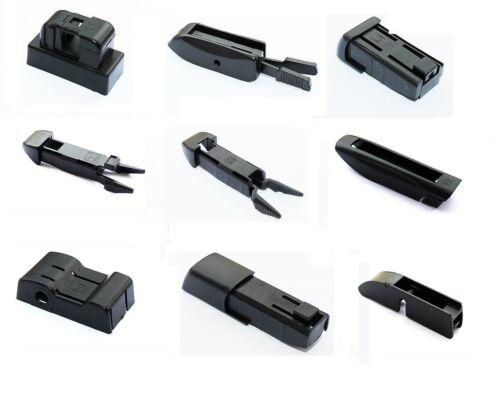 2 x 550,450 hallenwerk essuie-glaces de raclettes Adaptateur Système Adaptateur AERO