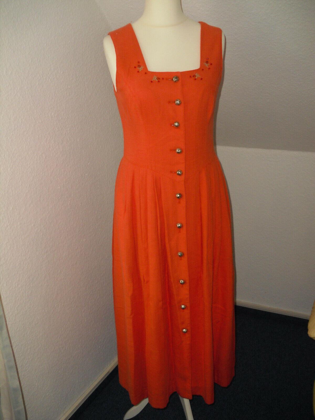BERWIN WOLFF Dirndl *Gr.38**orange*---TOP