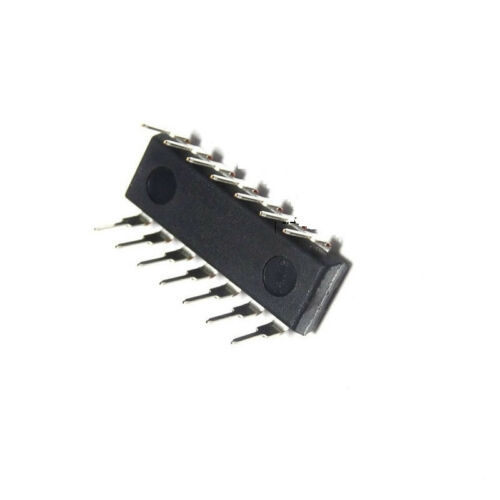 5PCS 74HC132 SN74HC132N TI Quad Schmitt Trigger Logic IC CA NEW CA