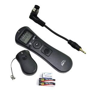 Controlador de liberación del obturador Bombilla b cable de conmutador remoto//Cable Para Nikon D7000//D5000